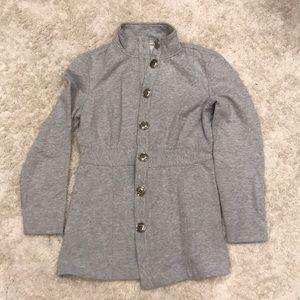 Heather Gray Sweater Jacket